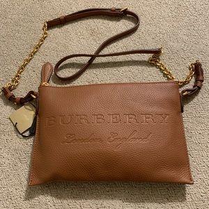NWT Burberry Leather Crossbody